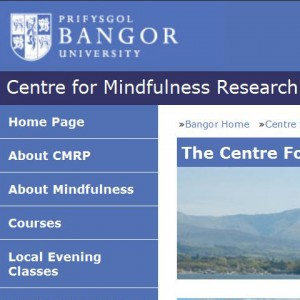 Centre for Mindfulness Research and Practice, Bangor University